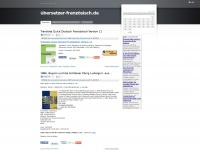übersetzer-französisch.de Webseite Vorschau