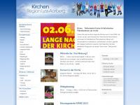 kirchenregion-aarberg.ch Webseite Vorschau