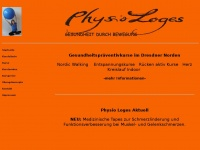 physio-loges.de Webseite Vorschau