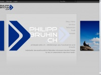 philippbruhin.ch Webseite Vorschau