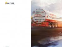 lother.de Webseite Vorschau