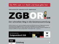 zgbor.ch Webseite Vorschau