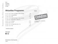 kino-heiden.ch Webseite Vorschau