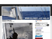 zu-zweit-auf-see.de Webseite Vorschau