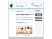 kinderwaesche-traumland.de Webseite Vorschau