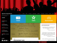 4gewinnt-improtheater.de Webseite Vorschau