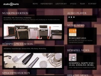 studio-a-berlin.de Webseite Vorschau