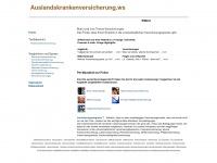 auslandskrankenversicherung.ws