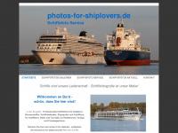 photos-for-shiplovers.de Webseite Vorschau
