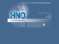 hno-praxis-nuernberg.de Webseite Vorschau