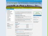 4-energie.de Webseite Vorschau