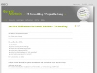 amrhein.info Webseite Vorschau