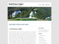1a-ferienhaus-ruegen.de Webseite Vorschau