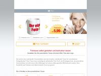 fototasse.com Webseite Vorschau
