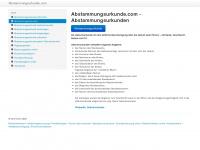 abstammungsurkunde.com