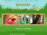 kinder-tiere-natur.ch Webseite Vorschau