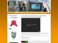 tresor-transport-klein.de Webseite Vorschau