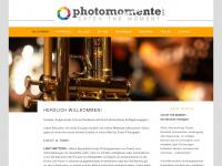 photomomente.net Webseite Vorschau