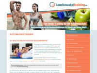 bauchmuskeltraining.biz Webseite Vorschau