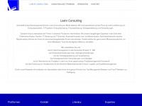 loehr-consulting.de Webseite Vorschau