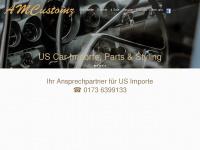 amcustomz.com Webseite Vorschau