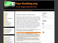page-ranking.org
