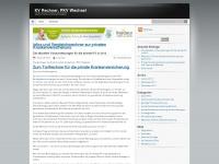kvrechner.wordpress.com Webseite Vorschau