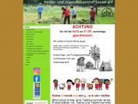kinderbauernhof-kassel.de Webseite Vorschau
