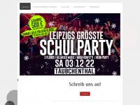 16plusparty-leipzig.de Webseite Vorschau