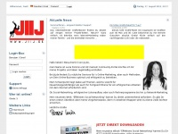 jiij.de Webseite Vorschau