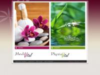 physiovital-dunningen.de Webseite Vorschau