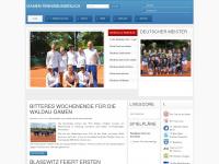 damen-tennisbundesliga.de Webseite Vorschau