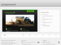 temporausch.com Webseite Vorschau