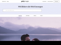 gettyimages.de Webseite Vorschau
