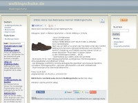 walkingschuhe.de Webseite Vorschau