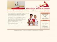 physio-hohmann-sauer.de Webseite Vorschau