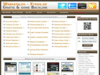 xtran.de Webseite Vorschau