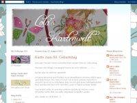 lolas-kartenwelt.blogspot.com Webseite Vorschau