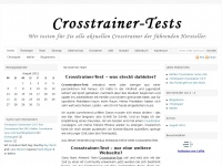 crosstrainertests.de