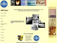 kinderosteopathie-wuerzburg.de Webseite Vorschau