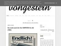vongestern.com