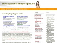 gesichtspflege-tipps.de