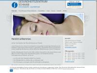 gesundheitszentrum-schwab.de Webseite Vorschau
