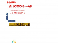 lotto-thueringen.de Webseite Vorschau