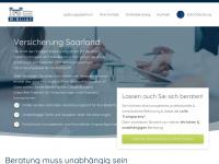 versicherung-saarland.de Webseite Vorschau