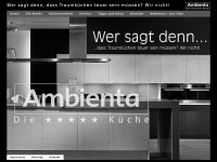ambienta-kuechen.de Webseite Vorschau