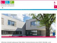 lop-schule.de Webseite Vorschau