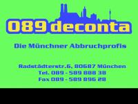 089deconta.de Webseite Vorschau