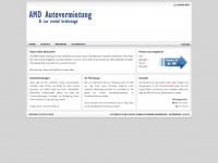 amd-autovermietung.de Webseite Vorschau