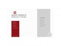 quint-essenz.net Webseite Vorschau